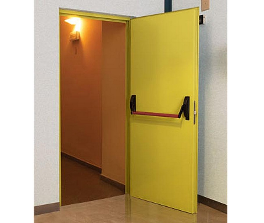 Fire Rated Doors : Stainless steel brass