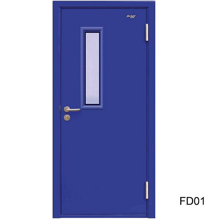 Fire Rated Steel Doors : Stainless steel brass